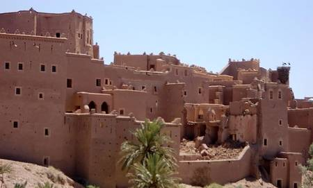 exploring abandoned adobe town in trip to ouarzazate Morocco with Marrakech Adventures
