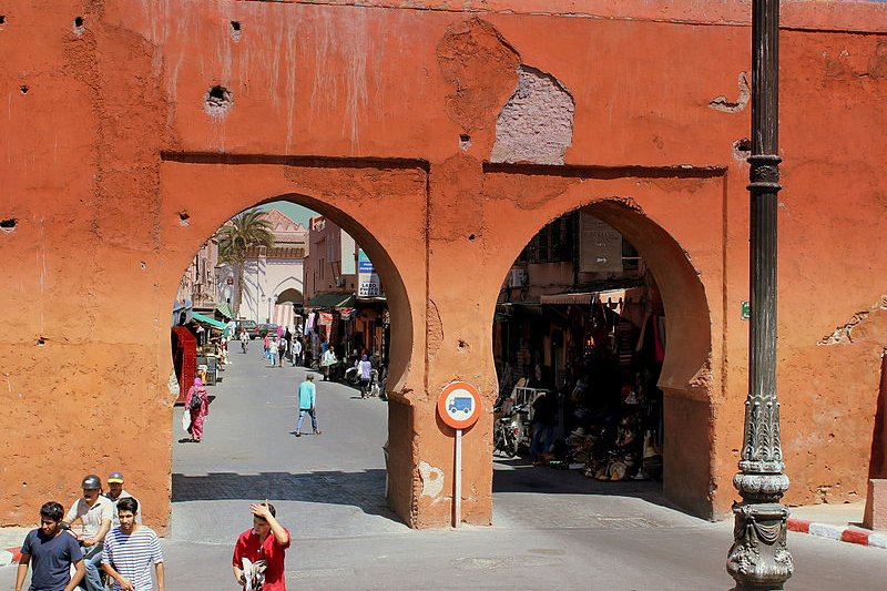 CITY WALLS MARRAKECH -TOURS OF MOROCCO