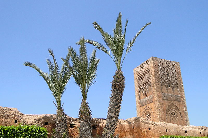 HASSAN TOWER RABAT - TOURS OF MOROCCO